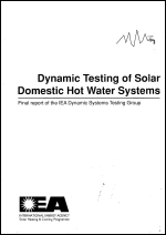 Dynamic Testing of Solar Domestic Hot Water Systems - Volume B