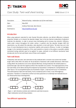Case Study: Twin wall sheet testing