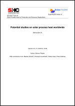 IEA SHC Task 49/IV - Deliverable C5 - Potential studies on solar process heat worldwide