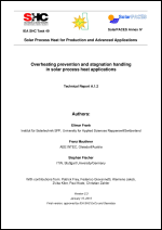 IEA SHC Task 49/IV - Deliverable A1.2 - Overheating prevention and stagnation handling in solar process heat applications