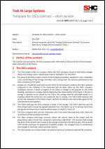 Template for ESCo contract – short version