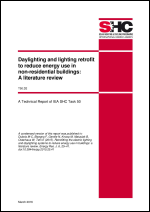 T50 D.2 Daylighting and lighting retrofit to reduce energy use in non-residential buildings: A literature review