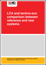 LCA and techno-eco comparison between reference and new systems