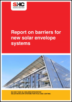 Report on Barriers for New Solar Envelope Systems