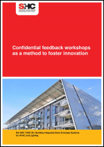 Report on confidential feedback workshops as a method to foster innovation