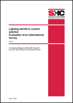 T50 C.1 Lighting retrofit in current practice - Evaluation of an international survey