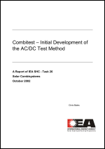 Combitest - Initial Development of the AC/DC Test Method