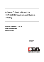 A Solar Collector Model for TRNSYS Simulation and System Testing